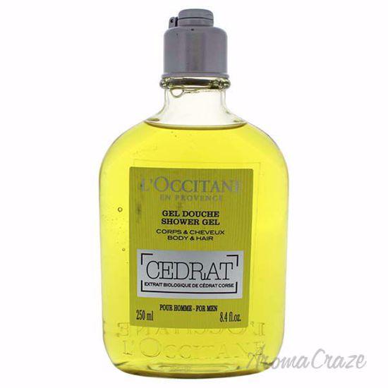 Cedrat Shower Gel by LOccitane for Unisex - 8.4 oz Shower Ge