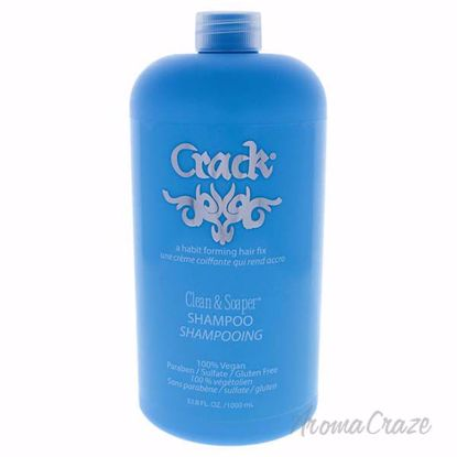 Clean and Soaper Shampoo by Crack for Women - 33.8 oz Shampo