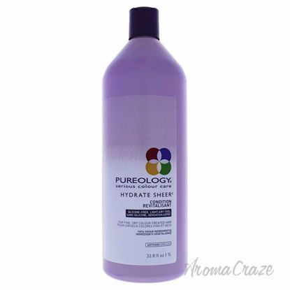 Hydrate Sheer Conditioner by Pureology for Unisex - 33.8 oz