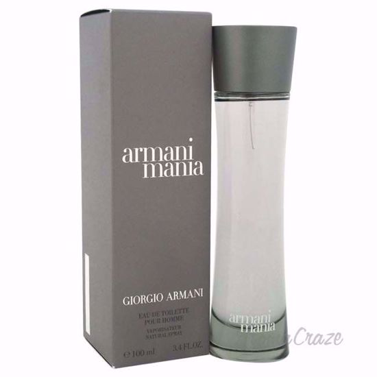 Armani Mania By Giorgio Armani For Men 34 Oz Edt Spray Aromacraze