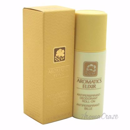 Aromatics Elixir by Clinique for Women - 2.5 oz Deodorant Roll-On - Deodorants | Antisperspirants | Deodorants Sticks | Deodorants Roll On | Best Deodorants For Women | Deodorants and Antiperspirants | Best deodorant for sensitive skin | Women Body Spray | Womens deodorant for odor  | AromaCraze.com
