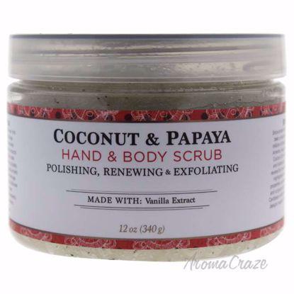Coconut & Papaya Body Scrub by Nubian Heritage for Unisex -