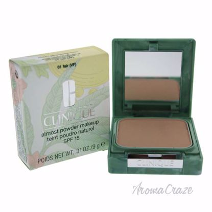 Almost Powder MakeUp SPF 15 - # 01 Fair by Clinique for Women - 0.31 oz Foundation - Face Makeup Products | Face Cosmetics | Face Makeup Kit | Face Foundation Makeup | Top Brand Face Makeup | Best Makeup Brands | Buy Makeup Products Online | AromaCraze.com
