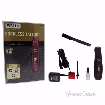 5 Star Cordless Tattoo - Model # 8491 - Red by WAHL Professional for Men - 1 Pc Kit Trimmer - Best Hair Styling Tool   Hair Tool Set   Hair Styling Accessories   Hair Dryer   Hair Dresser   Hair Care Products   AromaCraze.com