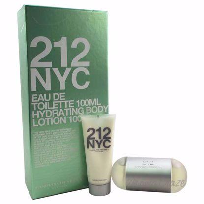 Carolina Herrera 212 NYC Gift Set For Women - 2 Pc 3.4oz EDT
