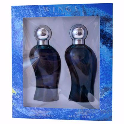 Wings by Giorgio Beverly Hills for Men - 2 pc Gift Set 3.4oz