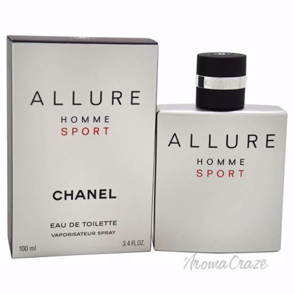 Allure Homme Sport by Chanel for Men - 3.4 oz EDT Spray