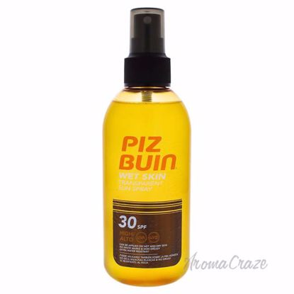 Wet Skin Spray SPF 30 by Piz Buin for Unisex - 5 oz Sunscree