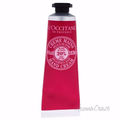 Shea Butter Delightful Rose Hand Cream by Loccitane for Unis