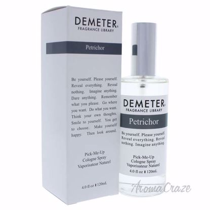 Petrichor by Demeter for Unisex - 4 oz Cologne Spray