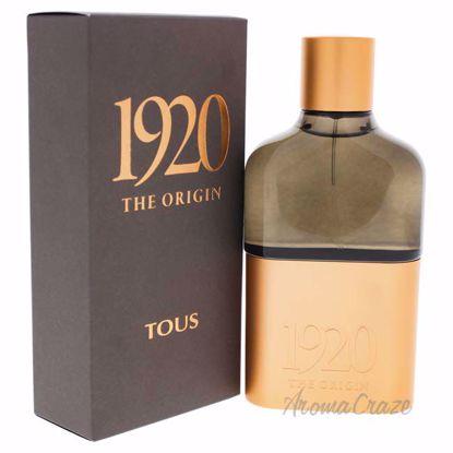 Tous 1920 The Origin by Tous for Men - 3.4 oz EDP Spray