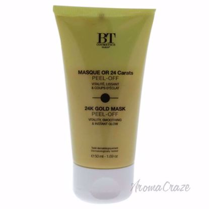 24K Gold Mask Peel Off by BT Cosmetics for Unisex - 1.69 oz