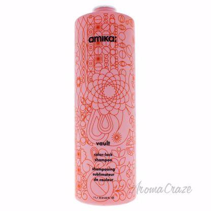 Vault Color-Lock Shampoo by Amika for Unisex - 33.8 oz Shamp
