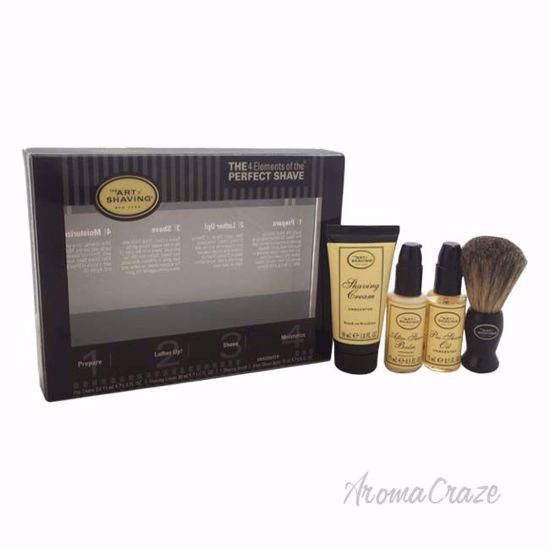 The 4 Elements of The Perfect Shave Starter Kit - Unscented