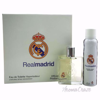 Real Madrid by Real Madrid for Men - 2 Pc Gift Set 3.4oz EDT