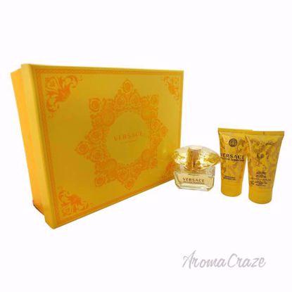 Versace Yellow Diamond by Versace for Women - 3 Pc Gift Set