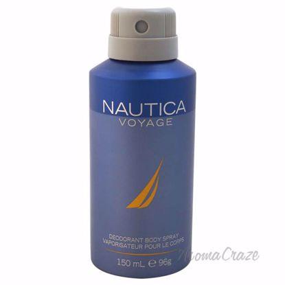 Nautica Voyage by Nautica for Men - 5 oz Deodorant Body Spray - Deodorants | Antisperspirants | Deodorants Sticks | Deodorants Roll On | Best Deodorants For Men | Deodorants Spray | Top Brands Deodorants | Deodorants and Antiperspirants | Best deodorant for sensitive skin | AromaCraze.com