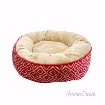 Kilim Donut Pet Bed by Pet Maison for Unisex - 27 x 8 Inch P