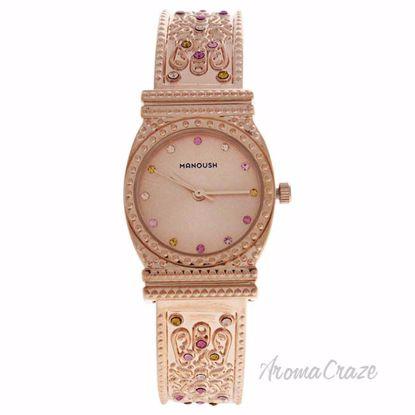 MSHMIRG Mizuna - Rose Gold Stainless Steel Bracelet Watch by