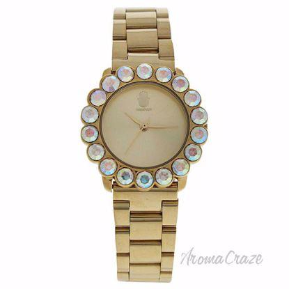 MSHSCG-2 Scarlett - Gold Stainless Steel Bracelet Watch by M