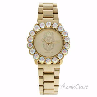 MSHSCG Scarlett Hand - Gold Stainless Steel Bracelet Watch b