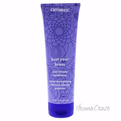 Bust Your Brass Cool Blonde Conditioner by Amika for Unisex