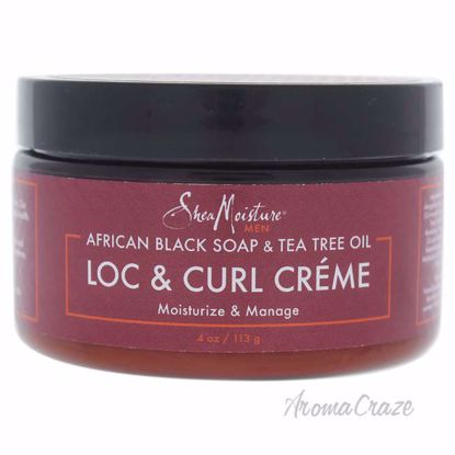 African Black Soap and Tea Tree Oil Loc and Curl Creme by Sh