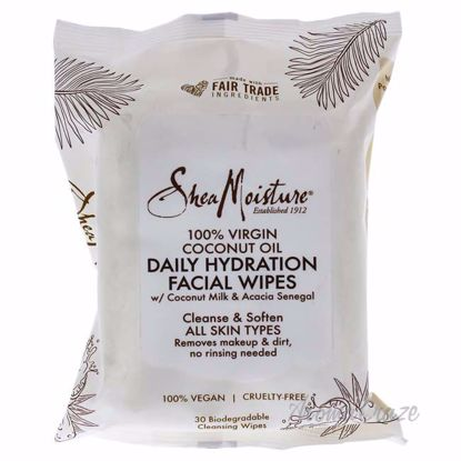 100 Percent Virgin Coconut Oil Daily Hydration Facial Wipes