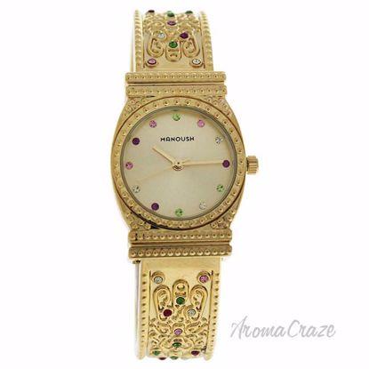 MSHMIG Mizuna - Gold Stainless Steel Bracelet Watch by Manou
