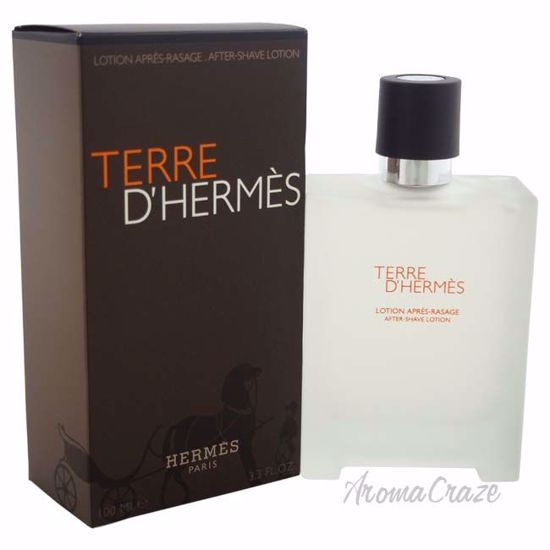 Terre DHermes by Hermes for Men - 3.3 oz After Shave Lotion
