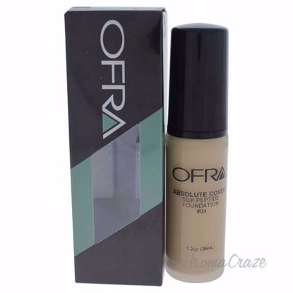 Absolute Cover Silk Peptide Foundation - # 4 by Ofra for Women - 1 oz Foundation - Face Makeup Products   Face Cosmetics   Face Makeup Kit   Face Foundation Makeup   Top Brand Face Makeup   Best Makeup Brands   Buy Makeup Products Online   AromaCraze.com