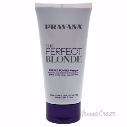 The Perfect Blonde Purple Toning Masque by Pravana for Unise