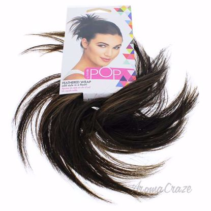 Pop Feather Wrap - R10 Chestnut by Hairdo for Women - 1 Pc H
