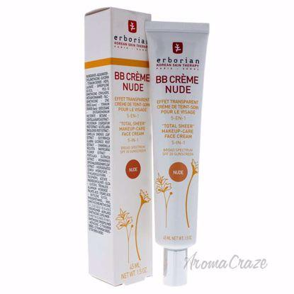 BB Cream - Nude by Erborian for Women - 1.5 oz Makeup