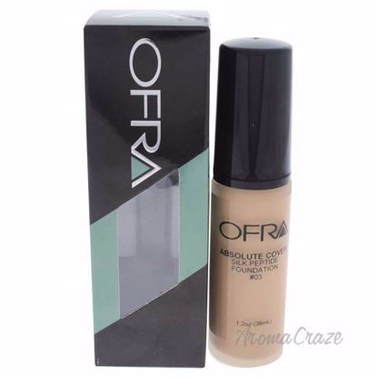 Absolute Cover Silk Peptide Foundation - # 3 by Ofra for Women - 1 oz Foundation - Face Makeup Products   Face Cosmetics   Face Makeup Kit   Face Foundation Makeup   Top Brand Face Makeup   Best Makeup Brands   Buy Makeup Products Online   AromaCraze.com