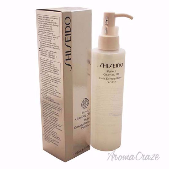 Perfect Cleansing Oil by Shiseido for Unisex - 6 oz Makeup Remover