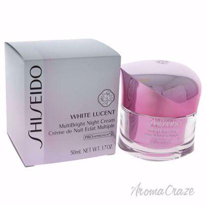 White Lucent MultiBright Night Cream by Shiseido for Women -