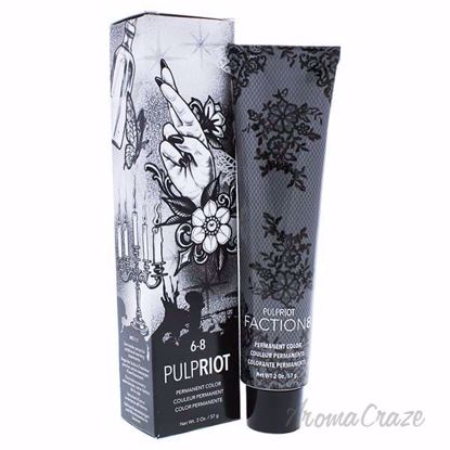 Faction8 Permanent Hair Color 6-8 Brown by Pulp Riot for Uni