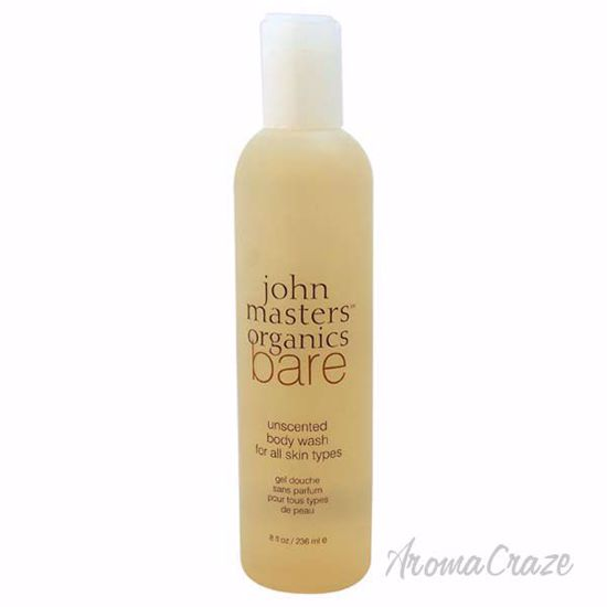 Bare Unscented Body Wash by John Masters Organics for Unisex