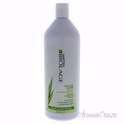 Biolage Normalizing Shampoo by Matrix for Unisex - 33.8 oz Shampoo - Hair Shampoo | Best Shampoo For Hair Growth | Shampoo and Conditioner For Damage Hair | Fizzy Hair Shampoo | Best Professional Shampoo | Top Brands Hair Care Products | AromaCraze.com