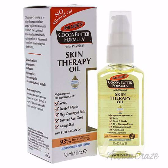 Cocoa Butter Skin Therapy Oil by Palmers for Unisex - 2 oz O