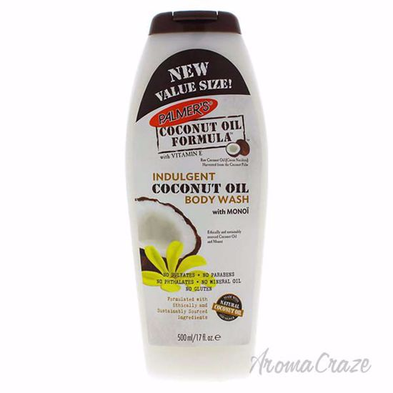 Coconut Oil Indulgent Body Wash by Palmers for Unisex - 17 o