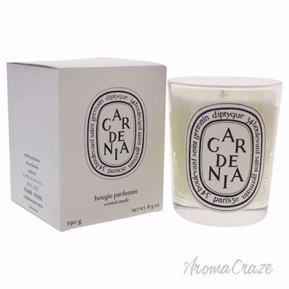 Gardenia Scented Candle by Diptyque for Unisex - 6.5 oz Candle - Scented Candles | Best Scented Candles | Scented Candles in Bulk | Best Smelling Candles | Luxury Candles | Christmas Scented Candles | AromaCraze.com