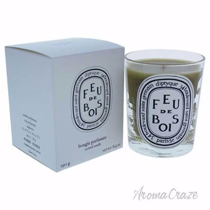 Feu De Bois Scented Candle by Diptyque for Unisex - 6.5 oz Candle - Scented Candles | Best Scented Candles | Scented Candles in Bulk | Best Smelling Candles | Luxury Candles | Christmas Scented Candles | AromaCraze.com