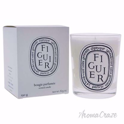 Figuier Scented Candle by Diptyque for Unisex - 6.5 oz Candle - Scented Candles | Best Scented Candles | Scented Candles in Bulk | Best Smelling Candles | Luxury Candles | Christmas Scented Candles | AromaCraze.com