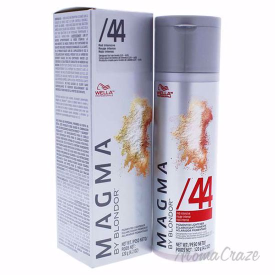 Magma By Blondor Pigmented Lightener 44 Red Intensive By Wella For