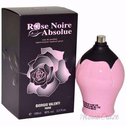 Rose Noire Absolue by Giorgio Valenti for Women - 3.4 oz EDP