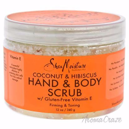 Coconut and Hibiscus Hand and Body Scrub Firming and Toning