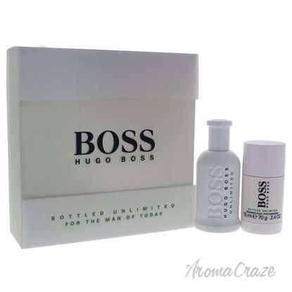 Picture of Boss Bottled Unlimited by Hugo Boss for Men - 2 Pc Gift Set 3.3oz EDT Spray, 2.4oz Deorant Stick