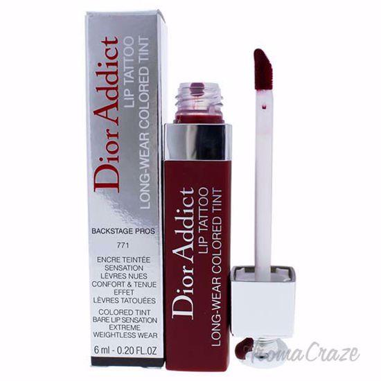 Dior Addict Lip Tattoo 771 Natural Berry By Christian Dior For Women 02 Oz Lipstick